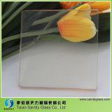 4mm 5mm keramisches Hochtemperaturglas für Kamin-Tür mit schwarzer Farbe