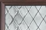 Portes en bois solides laquées avec la glace