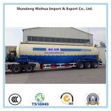 V Tanker van het Cement van het Type de Bulk, de Aanhangwagen van de Tank van het Cement van Vervaardiging