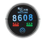고급 호텔 전자 문 격판덮개, LED 객실 번호 전시 (MP01-A)를 가진 접촉 문 벨 스위치