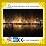 Lago Music Fountain con il LED variopinto Lights