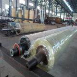 Rodillo de goma de la industria usado para la maquinaria de la materia textil y la maquinaria del papel