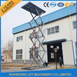 hydraulische 7.6m 3tons Scissor elektrisches Auto-Aufzug für Verkauf