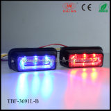 Liner3 CER Approval LED Warning Lights in Red Blue Color