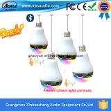Plástico ruidoso de Bluetooth del precio de fábrica 3 vatios del altavoz de bulbo de Horm LED con control del APP