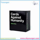 Карточки против коробки гуманности голубой