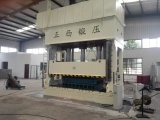 Placa de aço da porta que grava o tipo das colunas da máquina 4 da imprensa hidráulica 1600 toneladas
