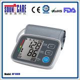 Moniteur de pression sanguine de l'homologation ISO13485 avec le grand écran LCD (BP80EH)