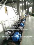 Compressor de ar livre do rolo do petróleo movido a correia