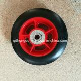 Roda de borracha contínua para o carrinho de mão de roda e o trole da mão