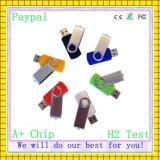 Memoria del mecanismo impulsor del flash del USB del eslabón giratorio de la capacidad plena (GC-YMm-001)