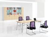 간단한 작풍 사무실 회의 테이블 사무실 책상을 입히는 분말
