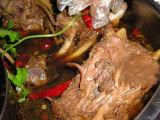 Kochen der Maschine für Schaffleisch