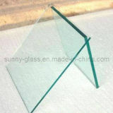 glace Tempered colorée par 5mm, verre trempé de la glace ensoleillée