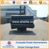 Доска дренажа мембраны димпла HDPE водоустойчивая 0.6mm 10mm 150g