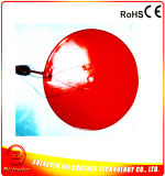 Diameter 360*1.5mm Silicone Rubber Heater voor 3D Printer 110V 400W