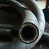 Un boyau en caoutchouc tressé de fil avec le boyau en caoutchouc hydraulique