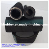 Hydraulic à haute pression Rubber Hose avec Hydraulic Fitting