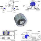 frizione industriale di isteresi della rottura della rottura del freno di Electromagtic del macchinario