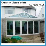 Niedriges Eisen-ausgeglichenes Glas für Glas des Tür-Glas-/Gebäude