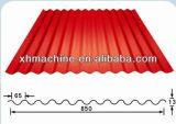 Pain ondulé complètement automatique de feuille de toiture de tuile formant la machine (XH850)