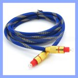Blaues Multimedia Network Fiber Optical Cable 2m oder Custom