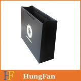 Saco de compras de papel de luxo de tamanho personalizado / saco de embalagem