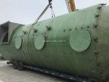 공격적인 액체를 위한 FRP GRP 저장 탱크