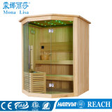 Zaal van de Sauna van de Ceder van de Grootte van de luxe de Draagbare Aangepaste Houten (m-6040)