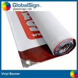 13 Oz는 1개의 편들어진 인쇄한 코드 PVC 비닐 기치를 주문 설계한다