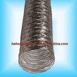 El aluminio No-Aisló el tubo de aire flexible ventilado