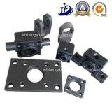 Precisão do CNC que faz à máquina as peças do cilindro hidráulico com centro fazendo à máquina do CNC