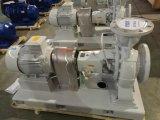 Pompe centrifuge chimique horizontale horizontale avec certificats CE