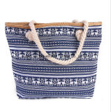 Moda Nova Handmade Handmade Handbags Maim Rope Beach Bag Grande Capacidade Mummy Bag New Shoulder Bag