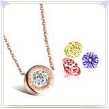 De Halsband van de Tegenhanger van het Roestvrij staal van de Juwelen van het Kristal van de Juwelen van juwelen (NK264)