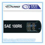 SAE 100 R6 de Hydraulische Slang van de Lage Druk