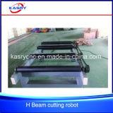 자동적인 철 채널 구석 강철 플라스마 또는 프레임 CNC 절단 경사지는 기계