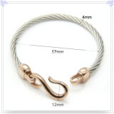 Form-Schmucksache-Perlen-Schmucksache-Edelstahl-Armband (BR204)
