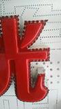 Знак носорога алюминиевый СИД двигает Носорога-III гибочной машины письма канала