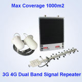 Mobiler Signal-Doppelbandverstärker Soem-3G 4G mit nagelneuen Materialien