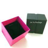 Коробка упаковки ювелирных изделий бумаги Bowknot тесемки для ожерелья