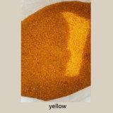 Gelbe Farben-Glasraupen für Swimmingpool