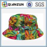 Sombrero colorido por encargo del compartimiento de la impresión floral para la venta