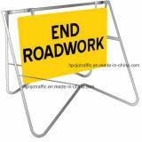 호주 표준 도로 공사 휴대용 그네 프레임 표시 도로 대 표시