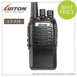 Radio UHF profesional del VHF/de la radio de la manera de la manera Radio+ VHF/Uhftwo del transmisor-receptor Lt-518 Handh