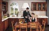 Klassieke Stevige Houten Keukenkasten