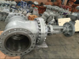Dn450 Pn64モーター制御された鋳造物鋼鉄ゲート弁(Z941Y-DN450-64C)
