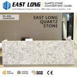 De grijze Marmeren Plakken van de Steen van het Kwarts van de Kleur Kunstmatige voor de Bovenkant van /Vanity van het Comité van de Tegel/van de Muur van de Vloer met Stevige Oppervlakte