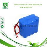 bloco cilíndrico recarregável da bateria do íon do lítio de 14.8V 7800mAh para a água Anlayzier