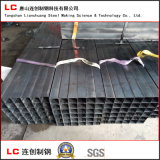 Tubo de acero engrasado de la casilla negra con la tela impermeable